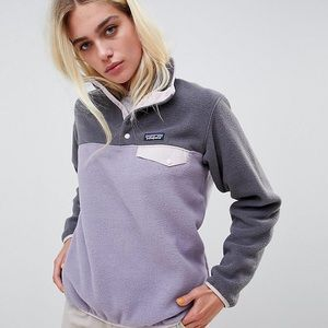 Patagonia Synchilla Snap T Fleece Pullover Sweater